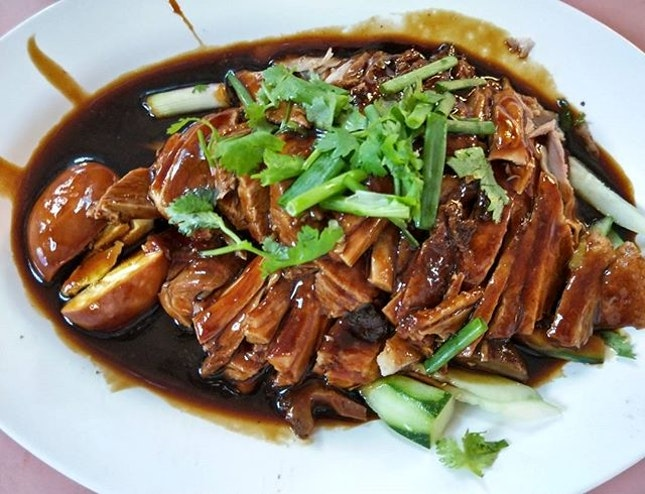 Finally I got the chance to try the Boneless Braise Duck.