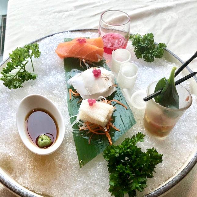 Vegetable Sashimi Platter