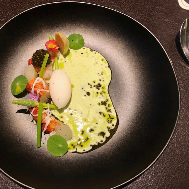 Lobster with Caviar