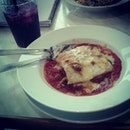 Beef lasagna!