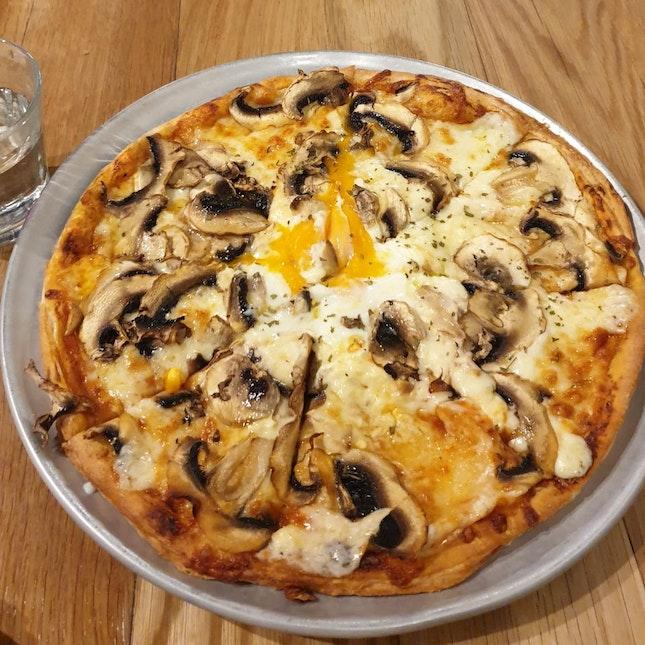 Truffle Mushroom Pizza ($23)