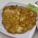 Prawn Omelette (S) ($8)