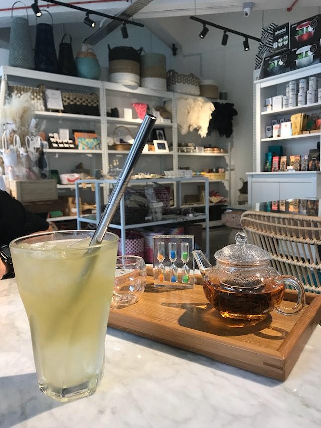 Tea Time In A Beautiful Space