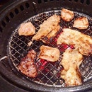 Farewell dinner for my Intern at Gyu-Kaku Japanese BBQ Restaurant.