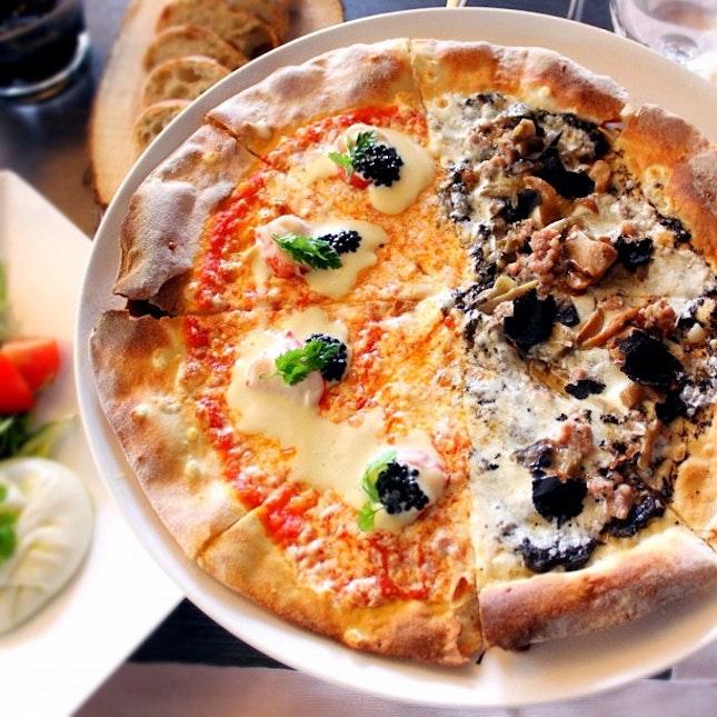 For Extravagant Pizzas