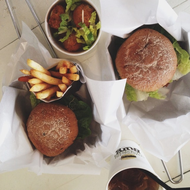For the Best Veggie Burgers