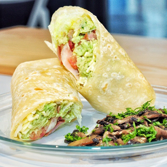 For Guacamole Wraps, Salads and Cold Pressed Juices