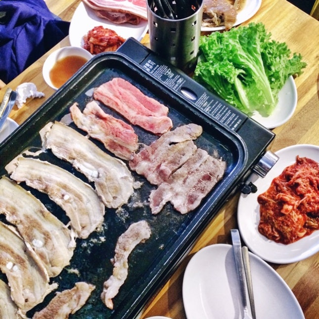 For Super Affordable Korean BBQ