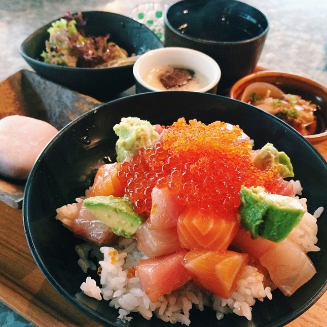 For $18.80 Chirashi Don Lunch Set