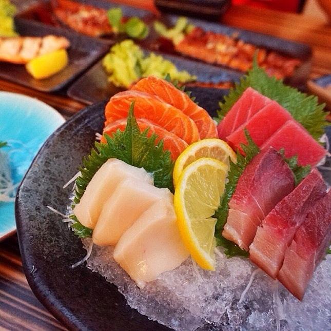 For More Free Flow Sashimi