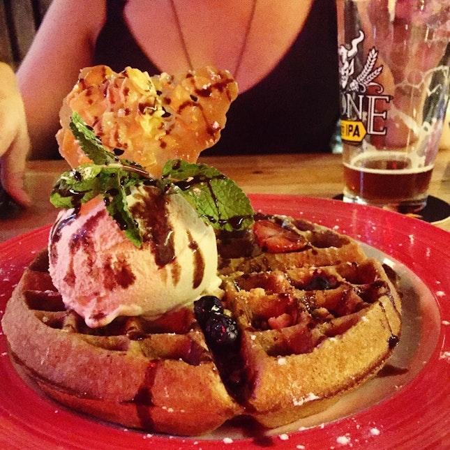 Novena Friday Part 2: Craft Beers and Beer Waffles
