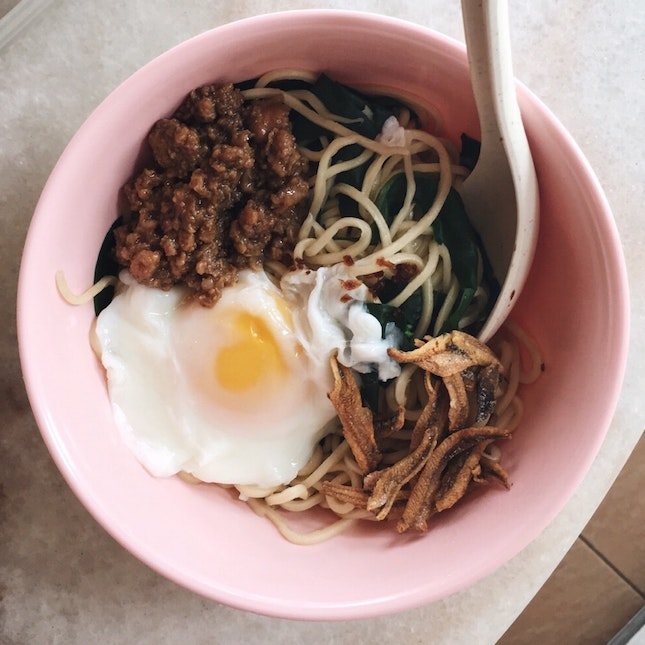 For Spicy, Slurpy Chili Pan Mee