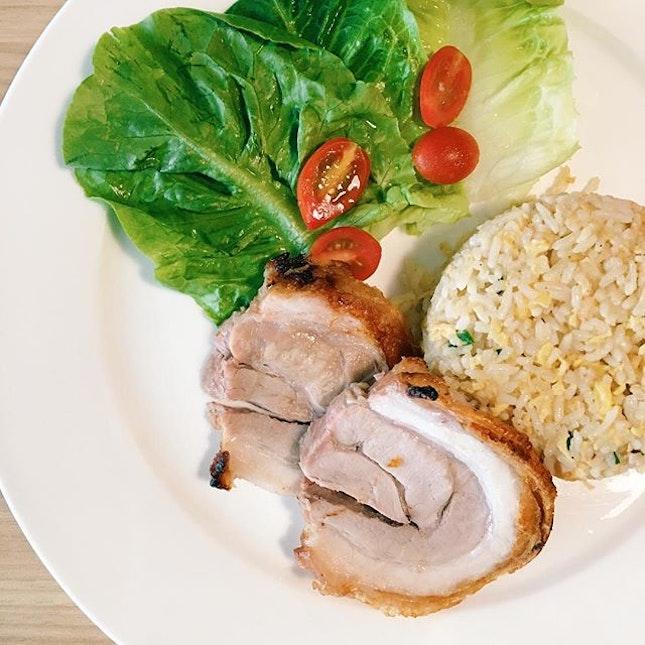 For Crackling Roast Pork