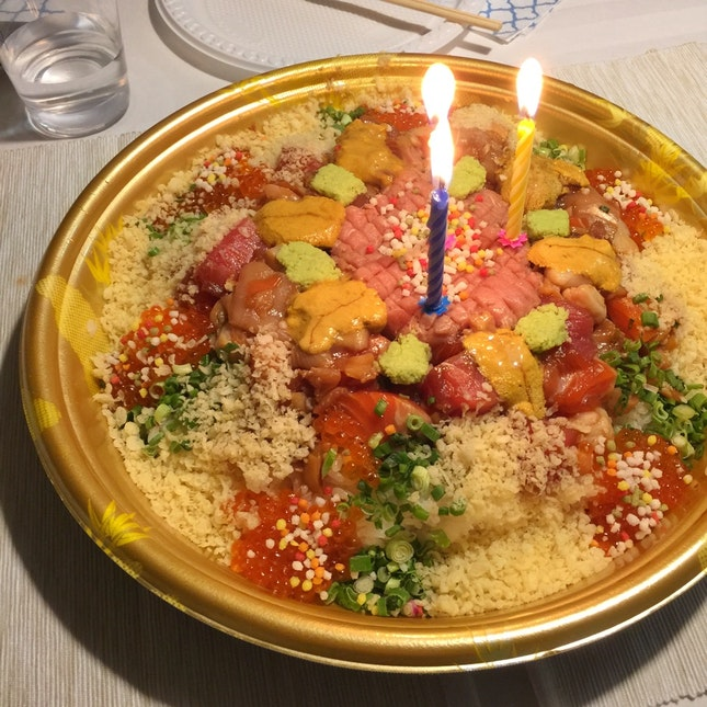 For the Most Unconventional Birthday Cake