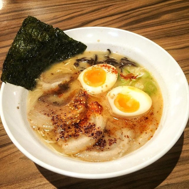 For Tasty Pork Based Ramen in a Foodcourt