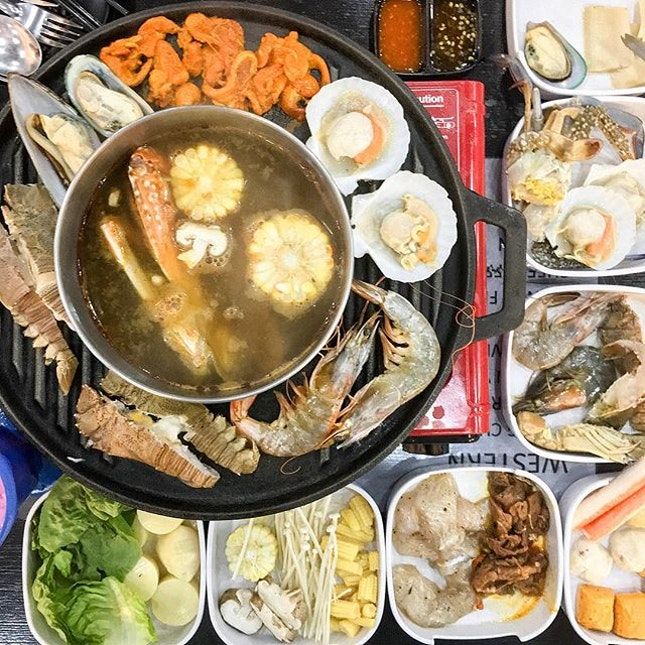 For a Halal-friendly Steamboat Buffet