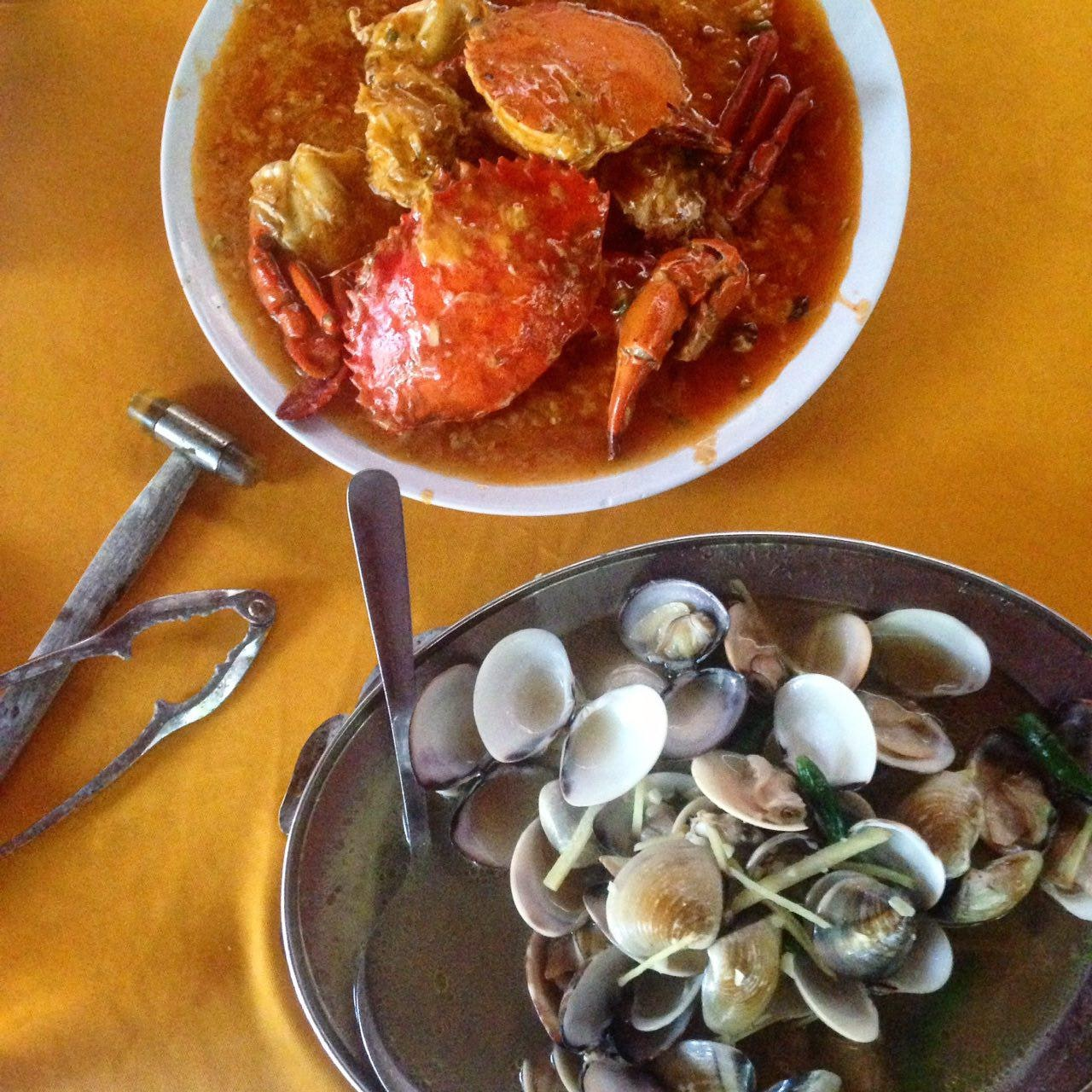 For a Tasty Seafood Tai Chow