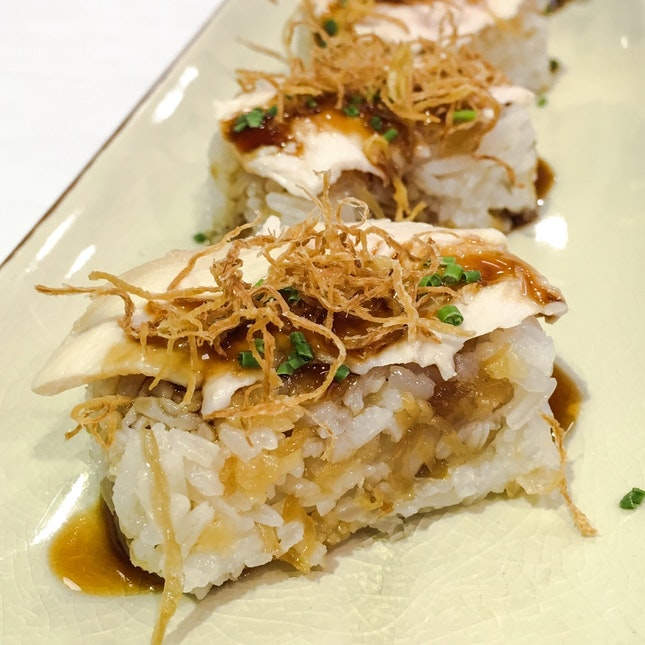 For Chicken Rice with a Twist