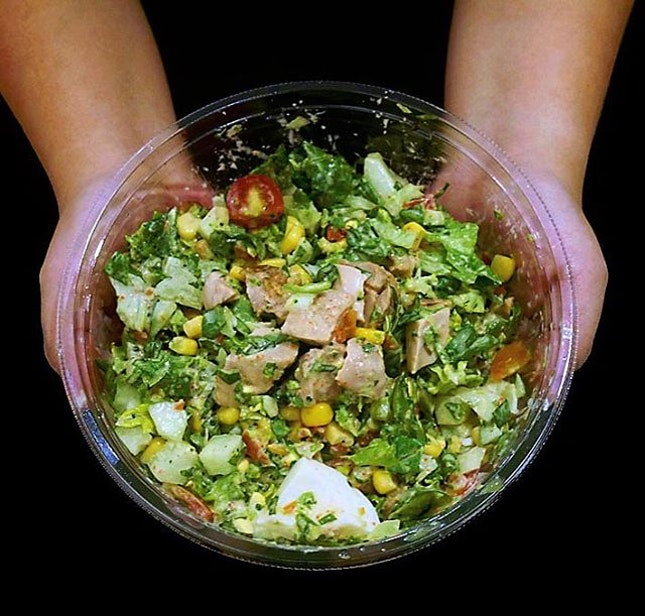 For Healthy Salads on the Go