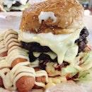 Burger Bakar Abang Burn (Jalan Ampang Putra)