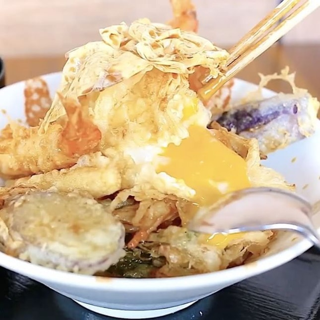 For Freshly Fried Tempura and Tendons (limited to 10 sets a day!)