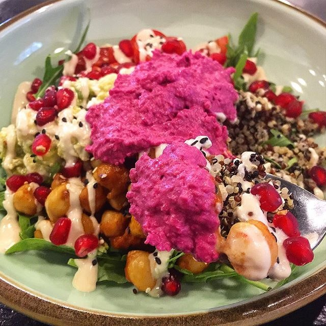 For Hearty Buddha Bowls