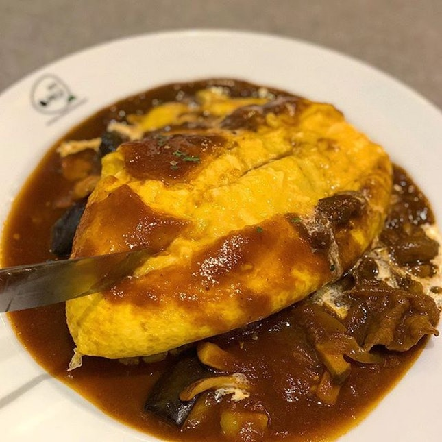 For Lava-Style Omu Rice