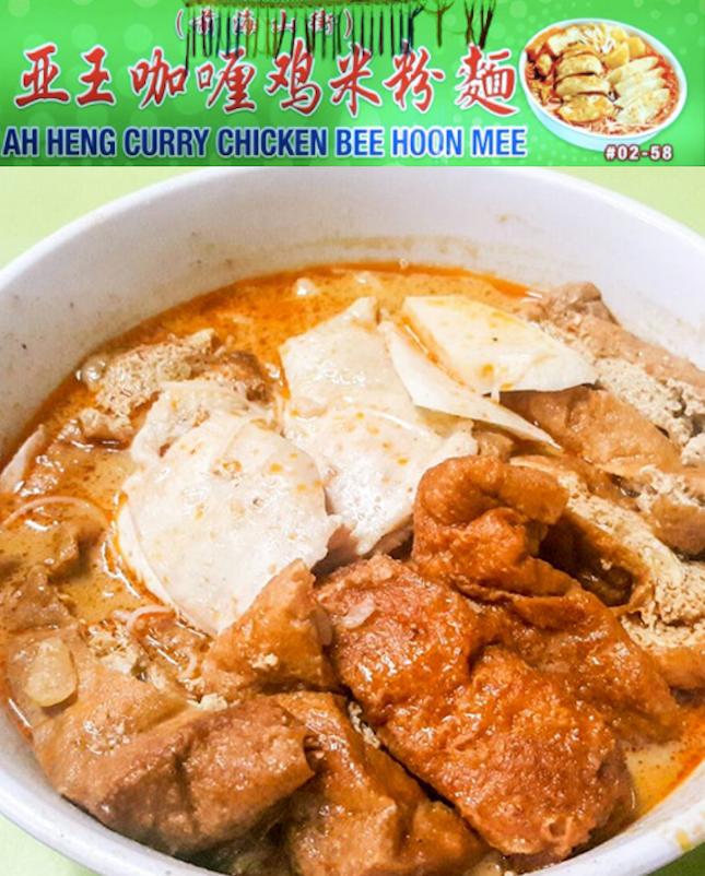 For Slurp-worthy Curry Chicken Noodles