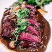 For Charcoal-Grilled Hanger Steak