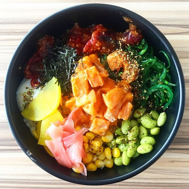 For Healthy Poke Bowls After a Workout