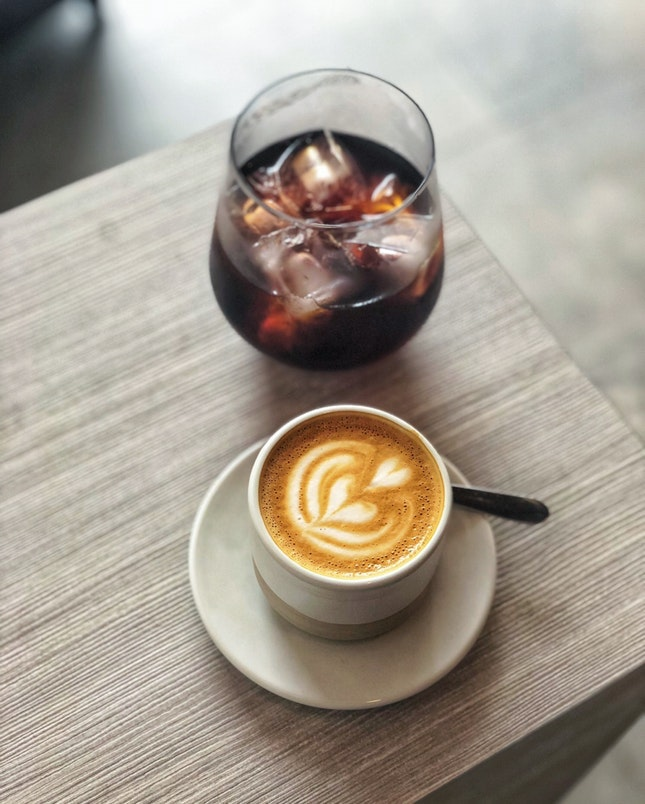 For No-Nonsense Solid Coffee in the East