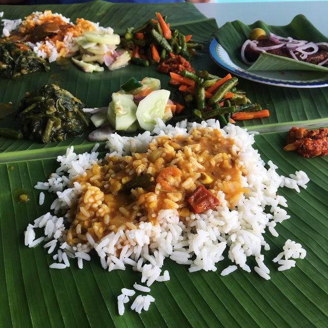 For Solid Banana Leaf Rice