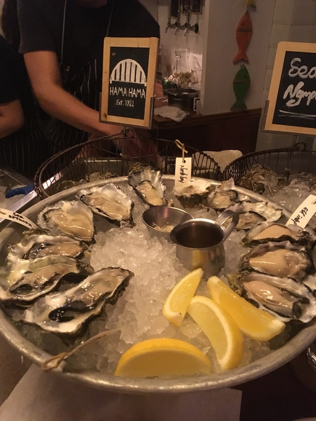For Oysters and Small Plates on Date Night