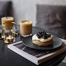 For Earl Grey Chiffon Cake With Handmade Boba