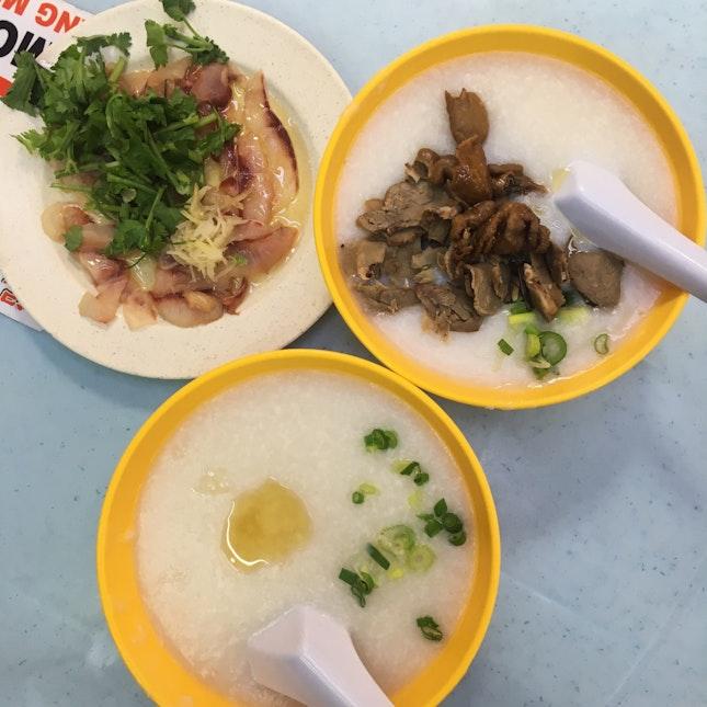 For Early Morning Fish Porridge