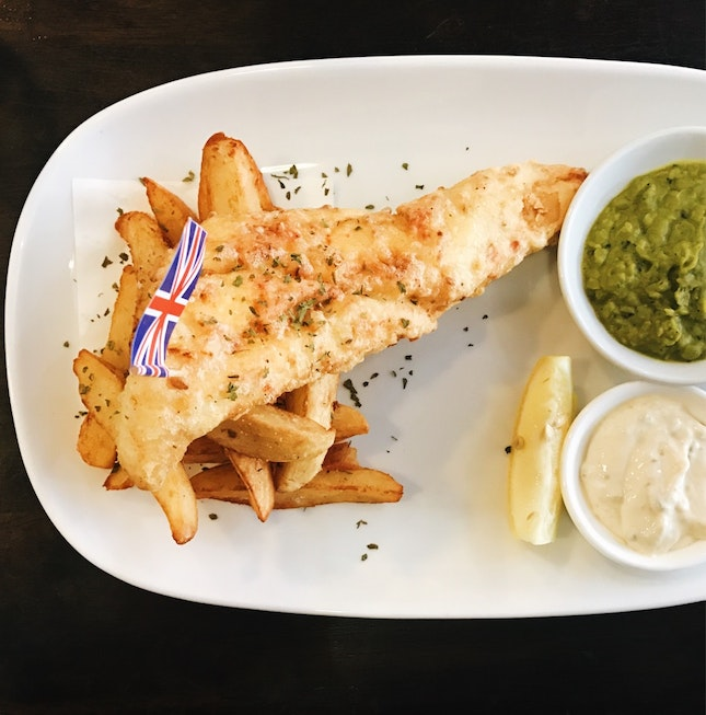 For British-Style Fish and Chips