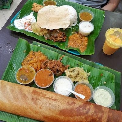 Komala Vilas Vegetarian Restaurant Serangoon Road