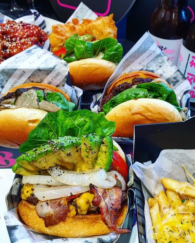 For Best Gourmet Korean-Fusion Burgers