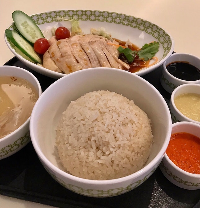 Best Upscale Chicken Rice Experience