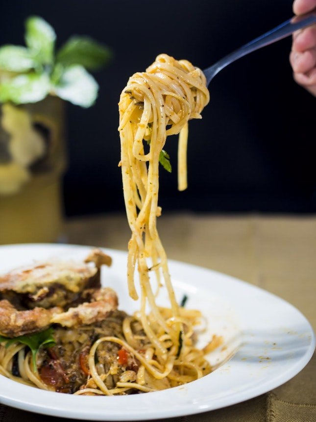 For 1-for-1 Main/Pasta Dish (save ~$25)