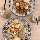 For 1-for-1 Double Scoop Waffle & Drink (save ~$16)