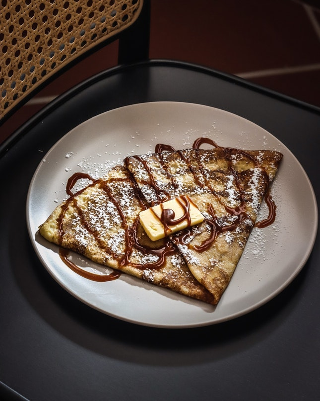 For Sweet Crepes and Savoury Galettes