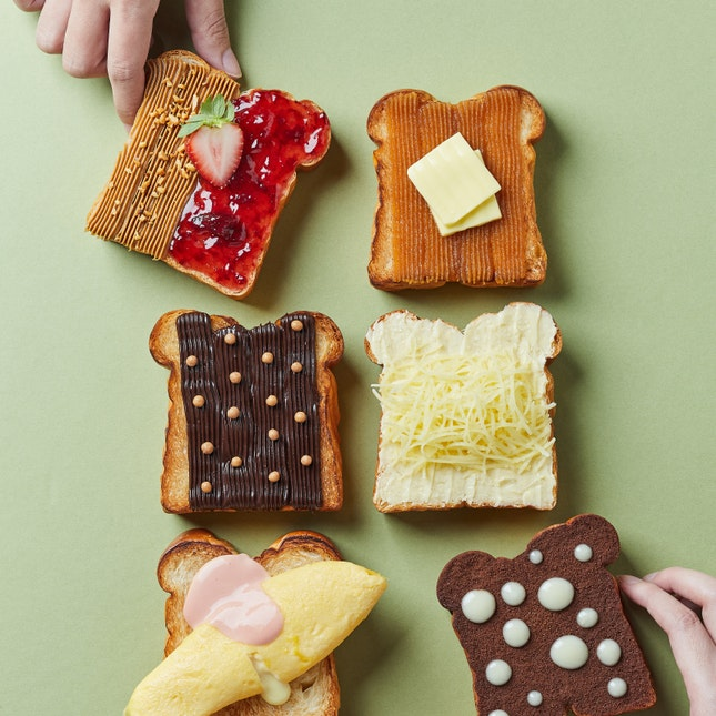 For Nanyang-Style Toasts