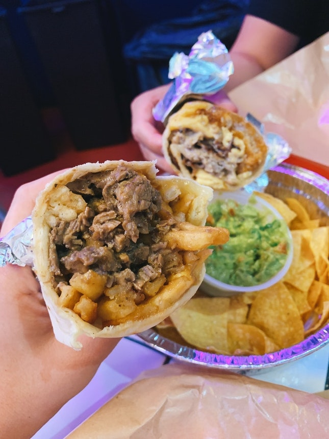 For Huge Burritos and Tacos