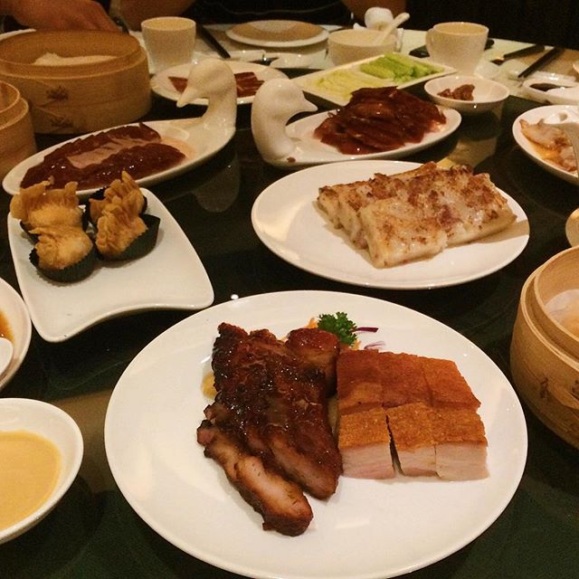 Having a dim sum feast this Saturday afternoon!