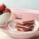 [ ʟɪᴍɪᴛᴇᴅ ᴇᴅɪᴛɪᴏɴ ] flavour @tokyomilkcheesesg These Strawberry & Milk Tea cookies don in pink, the colour of this season, are as sweet as it looks .