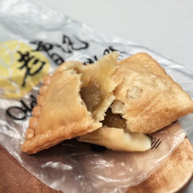 Kaya Butter Puff from @oldchangkeesingapore is for the sweet tooth .