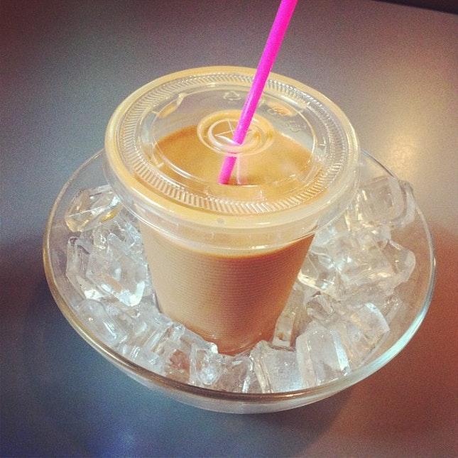 """original ice """"ying yong"""" milk tea"""