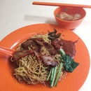 Wanton Mee from Tiong Bahru Chun Fa Wanton Noodle  The noodles here are springy and complements well with the savoury sauce!