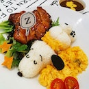 Super adorable snoopy meal!